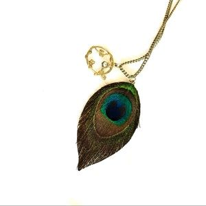 Peacock 🦚 • Long Statement necklace